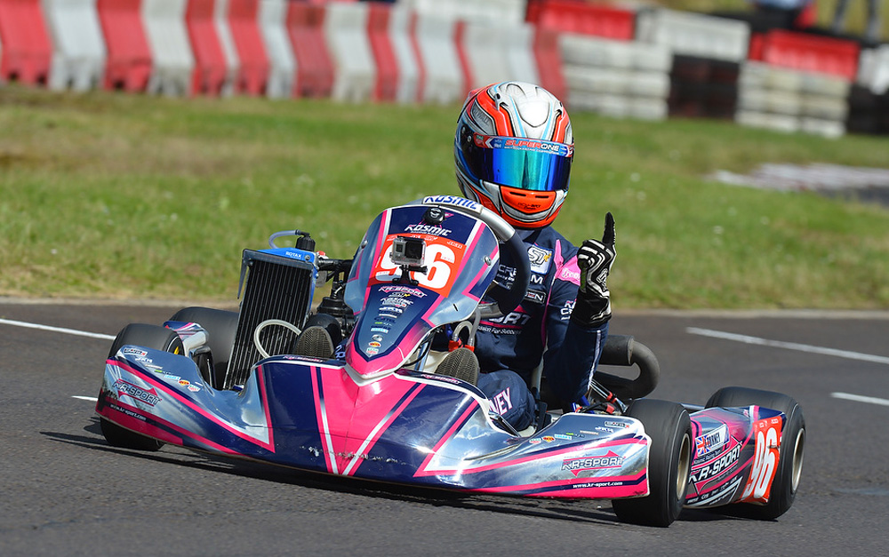 TURNEY JOINS TONY KART TEAM FOR WINTER CUP IN LONATO
