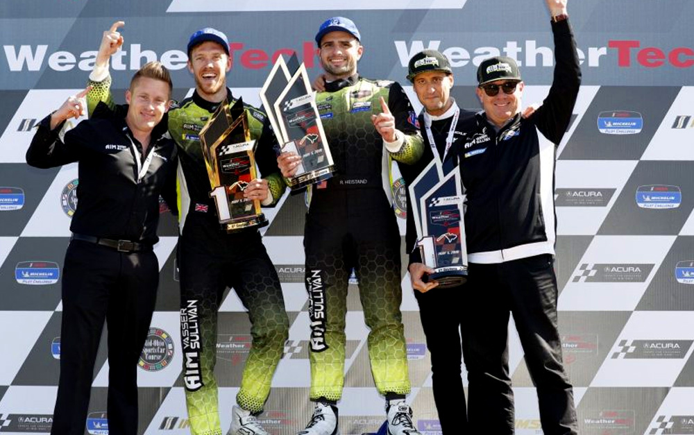HAWKSWORTH HITS MARKS IN FINAL MINUTES TO GIVE AIM VASSER SULLIVAN FIRST IMSA WITH LEXUS