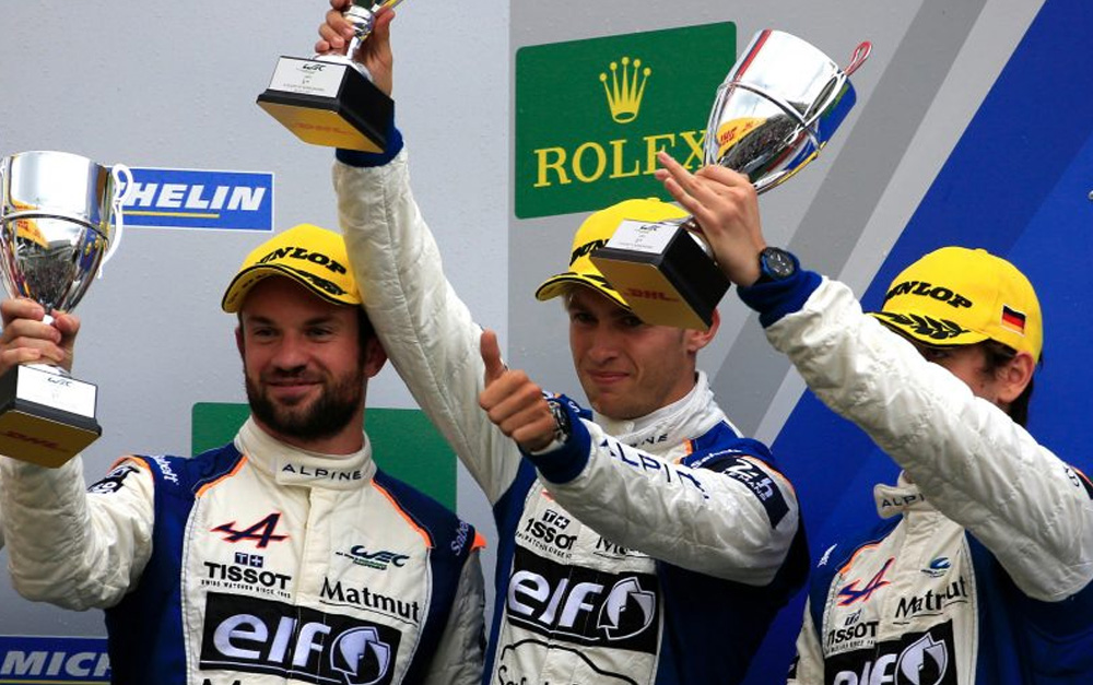 MENEZES CELEBRATES PODIUM RETURN AT GERMANY'S NÜRBURGRING