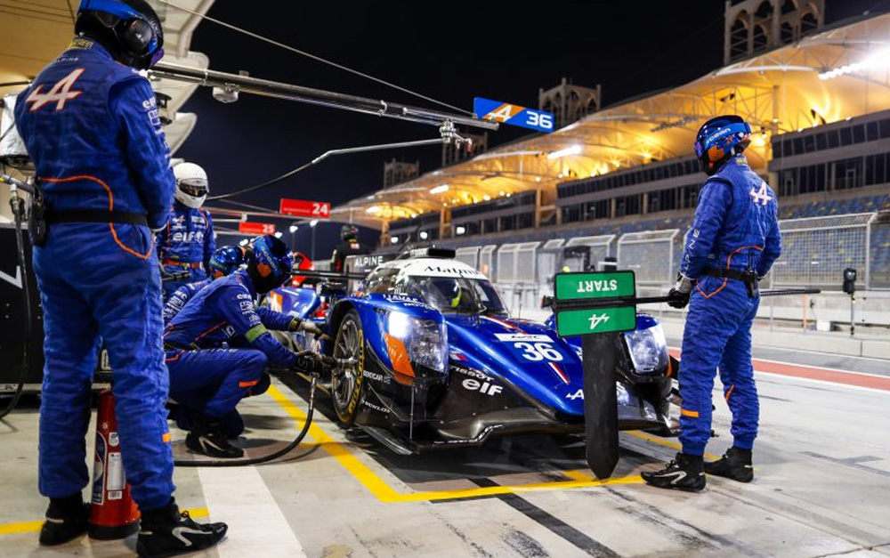 MENEZES GOES DOWN FIGHTING AS HE PROVES PACE IN BAHRAIN WEC FINALE