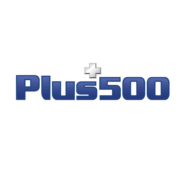 Plus 500 Logo / Sports Sponsorship