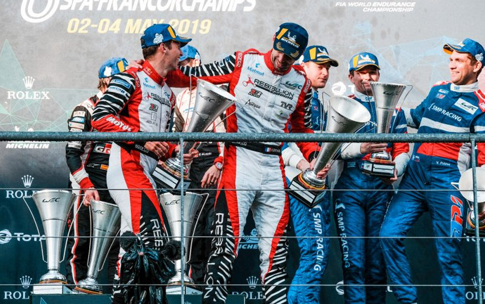 RISING AMERICAN SPORTSCAR STAR SPEEDS TO FOURTH PODIUM OF FIA WEC 'SUPER SEASON'