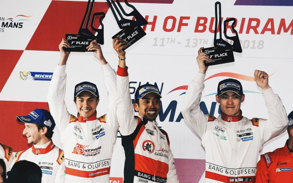 TAN MAKES HISTORY WITH 'INCREDIBLE' VICTORY ON ASIAN LE MANS LMP2 DEBUT