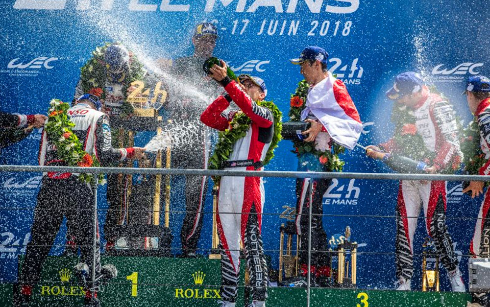 THIRD PLACE 'LIKE A VICTORY' FOR MENEZES AFTER 'MAGICAL' LE MANS