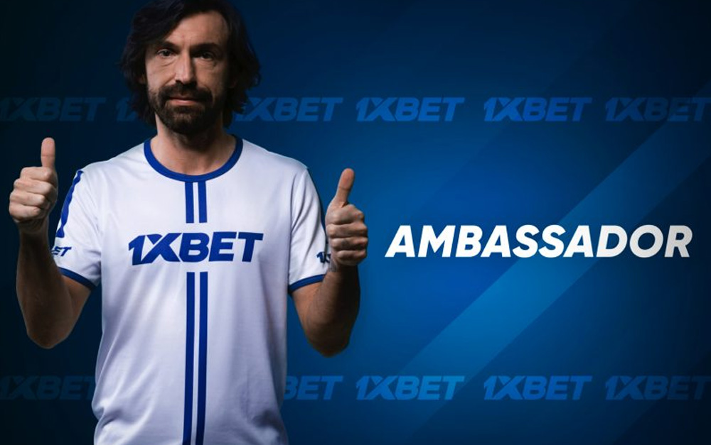 WHSG PARTNERS 1XBET WITH FOOTBALL LEGEND ANDREA PIRLO