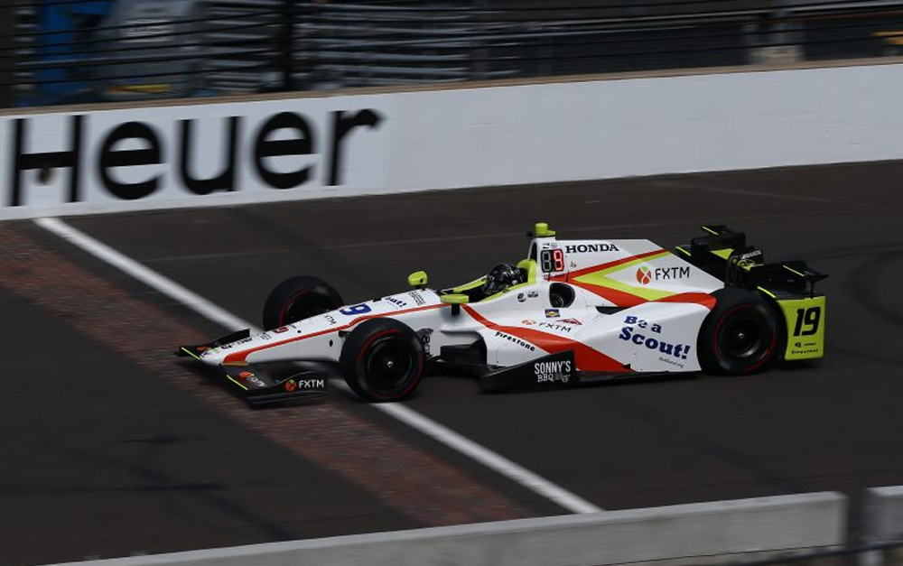 FXTM INKS SPONSORSHIP DEAL WITH INDYCAR DRIVER EDWARD JONES
